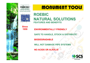 roebic natural solutions