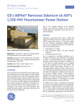 GE`s ABMet removes selenium at AEP