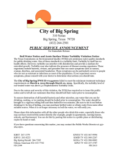 Boil Water Notice - Big Spring