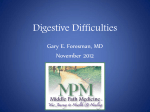 Digestive Difficulties
