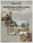 SteriPEN Tactical UV Water Purifiers