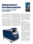 Beating bacteria in fuel ethanol production