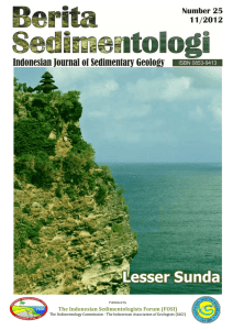 The Indonesian Sedimentologists Forum (FOSI)