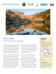 Sierra Buttes - Northern Sierra Partnership