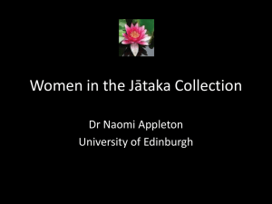 Women in the Jātaka Collection
