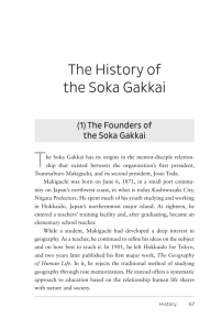 The History of the Soka Gakkai - Sgi-Usa