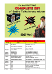 List of Osho`s English Discourse DVD Mp3`s