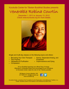 Venerable Robina Courtin