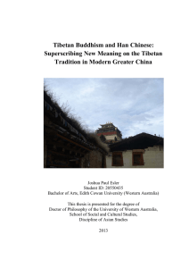 Tibetan Buddhism and Han Chinese: Superscribing New Meaning
