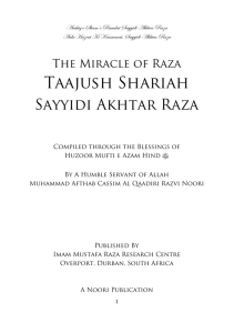 The Miracle of Raza