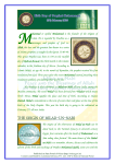 the origin of milad-un-nabi