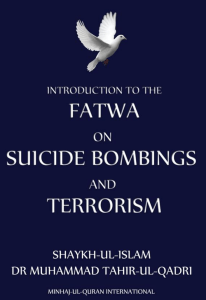 Fatwa on Suicide Bombings and Terrorism
