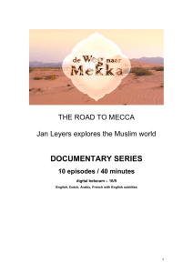 The Road to Mecca - International Sales
