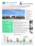 Project Profile: Killeen-Fort Hood Regional Airport