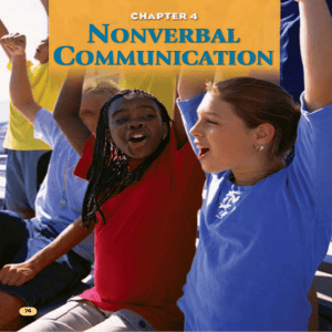 nonverbal communication - USD 475 Geary County Schools