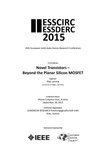 Novel Transistors – Beyond the Planar Silicon MOSFET