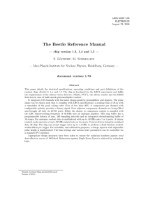 The Beetle Reference Manual