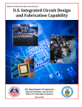 U.S. Integrated Circuit Design and Fabrication Capability -