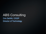 ABS Consulting - SANS Institute