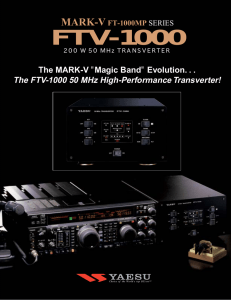 FTV-1000 - Fox Tango International