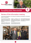 4 RoodMicrotec Newsletter Review of the information meeting