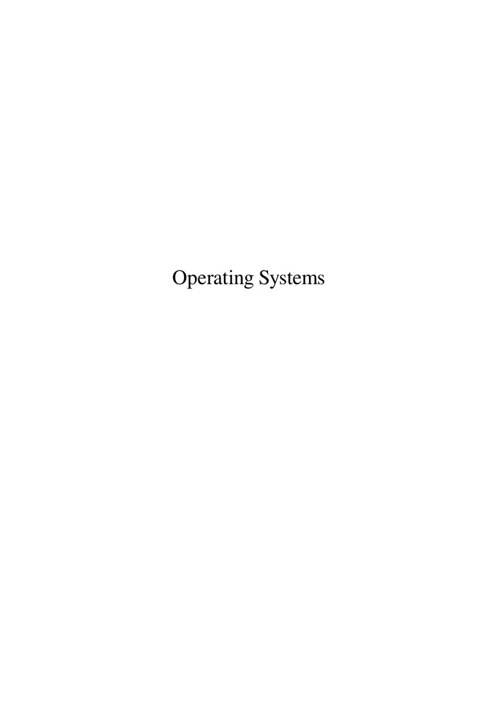 Operating Systems - Learn IT With Davo