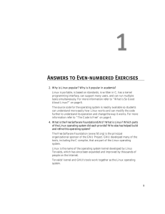 Answers to Even-numbered Exercises