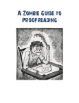 A Zombie Guide to Proofreading