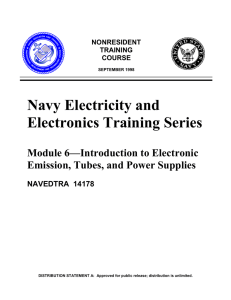 Navy Electricity and Electronics Training Series