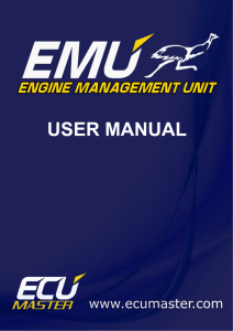 User manual - ECU Master USA
