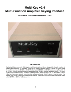 Multi-Key v2.4 - Harbach Electronics