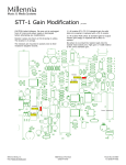 STT-1 Gain Modification