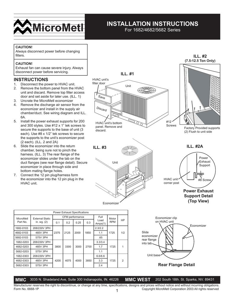 Micrometl Economizer Wiring Diagram