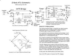 Z-Rock ATU Schematic