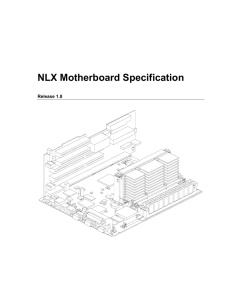 NLX Motherboard Specification