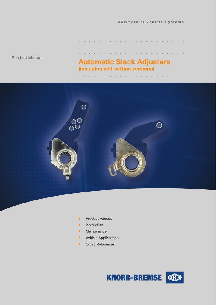 Automatic Slack Adjusters