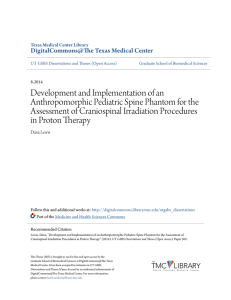 Development and Implementation of an Anthropomorphic Pediatric