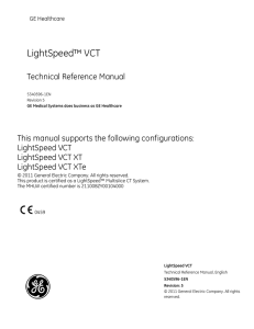 LightSpeed™ VCT - Spectrum Medical X