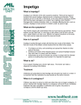 Impetigo Fact Sheet