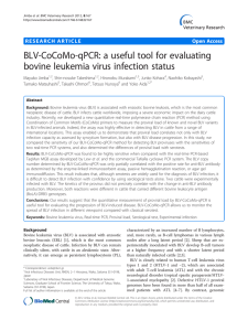 BLV-CoCoMo-qPCR: a useful tool for evaluating