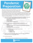 20-to-Ready - Pandemic Preparation