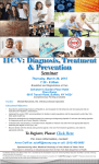 HCV: Diagnosis, Treatment & Prevention