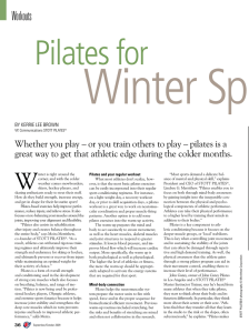 Pilates for Winter Sports
