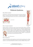 Piriformis Syndrome. - Roland Jeffery Physiotherapy