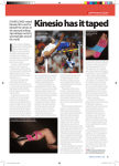 Kinesio has it taped