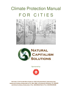 Climate Protection Manual FORCITIES