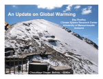 An Update on Global Warming