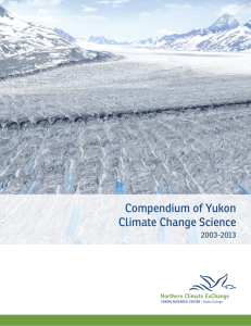 Compendium of Yukon Climate Change Science