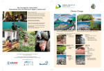 Climate change awareness brochure - Coral Triangle Initiative on