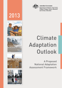 Climate Adaptation Outlook